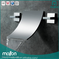 Hot sales modern kaiping wall mount hot cold waterfall faucet parts