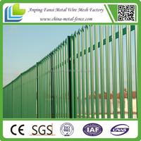 allibaba.com cheap high security palisade fencing garden decoration