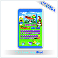 Color Screen color screen kids laptops for Kids Learning Designed in Mobile Touch Screen Ipad Shape