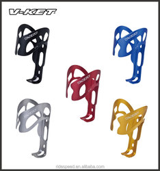 Anodized aluminum alloy bicycle water bottle cage on sale