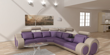 Trendy new design home furniture set modern chesterfield leather couch living room 109C