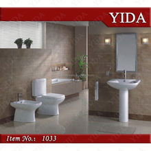 two piece toilet and toilet basin suit, top sanitary ware for bathroom, africa wholesale water closed for project