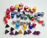 custom Acrylic game Dice manufacture