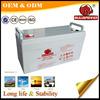 renewable energy storage VRLA 6V150AH 2v battery lead acid solar accumulator