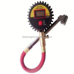 tire inflator gauge tire sealer and inflator for auto