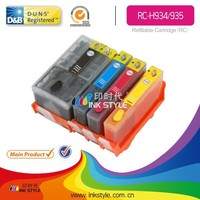 Compatible 934/935 refillable for hp pro66230 ink cartridge