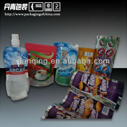 2014 All Kinds of Plastic Packaging Pouches/Bags/Films for Food/Liquid/Beverage/Snack/Coffee