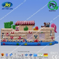 China Noah's Ark Inflatable Bounce House, Inflatable Bounce House for Sale