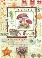 Pure hand-painted high quality vegetable still life painting home decorative painting