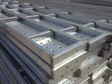 Hot Dip Galvanized Perforated Steel Plank for Bangladesh