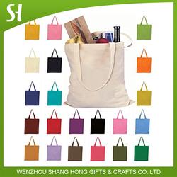 Reusable 100 Cotton white Blank Tote Bags