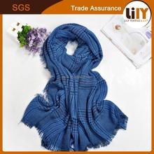 Hot wholesale new scarf with thick warm big han edition imitation cashmere shawl scarf fashion small grid
