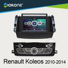 "7"" dashboard touch screen car DVD radio player GPS navigation for Renault Koleos 2010-2014"