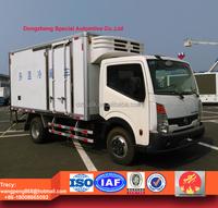 Nissan refrigerator van truck, Nissan insulated van, 5 ton refrigerator box truck for sale