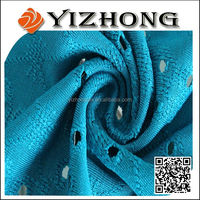 Best selling Fancy Jersey jacquard polyster clothing fabric