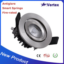 chinese products wholesale free shipping led cob fire-rated fire-rated commercial led lighting