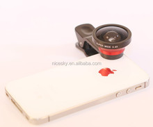 Hot china products wholeale 0.4x super wide angle lens+ macro lens