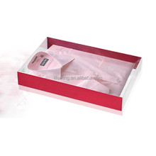 clear pvc box for shirt packaging