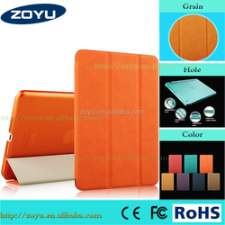 for ipad air case ipad 5 case, tablet cover flip leather case for ipad case