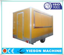 Hot Sale food vending carts/Mobile Kitchen Truck Food Van/food van trailer