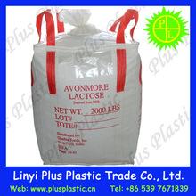 laminated ton bag /big bag /bulk bag with strong handle