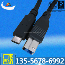 3D Printer USB 3.1 Type C male to USB 3.0 B type Cable
