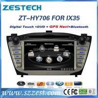 Zestech car accessories multimedia audio radio dvd player with GPS for Hyundai IX35