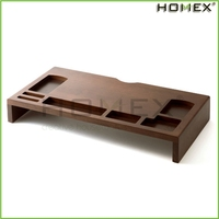 Wooden Monitor Stand/Computer Stand/Homex_BSCI