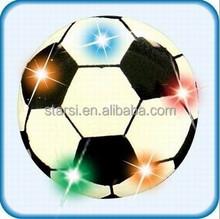Football LED flashing Badge Advertising promotional gifts