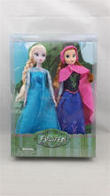 "Frozen 12"" Toy Elsa & Anna Princess Figures Play Set Doll"