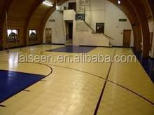 Anti-slip PP sports floor ECO Frendly PP Interlock Basketball