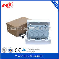 Outdoor 4-output CATV fiber optical node receiver
