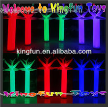 Decorative Party Club Inflatable LED Light Tree