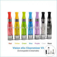 100% genuine Hight quality e cig products vision v3 large stock wholesale vision ce4 v3 huge vapor atomizer