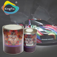 high solids high weathering resistant vanish paint Suitable for various repair