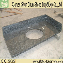 Imported One Sink Blue Pearl Granite Kitchen Countertop/Vanity top