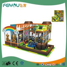 Naughty Castle New Products On China Market PVC Coated LLDPE Multifunction Games Indoor
