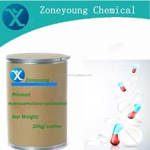 Good quality hydroxyethyl-beta-cyclodextrin to improve solubility for trade
