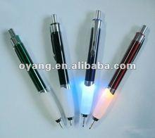 Flashing bulb pen light up pen