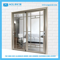 Hot selling patio cheap interior glass sliding door