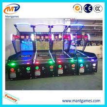 Indoor arcade hoops cabinet basketball game/extreme hoops basketball machine