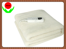 Temperature Control 100% Polyester Electric Heating Blanket