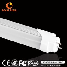 6ft high lumen SMD3528 UL driver t8 led tube 1800mm 30W rotary