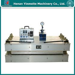 Portable conveyor belt splice machine