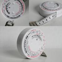 BMI Calculator with tape measure