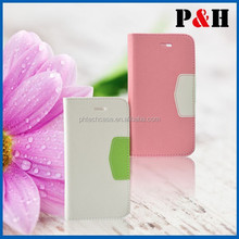 Leather case for iPhone 6,cell phone case for iPhone 6,mobile phone case for iPhone 6