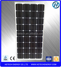 Monocrystalline 100w solar panel price per watt from China Manufacturer