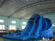yard water slide , LZ-B3484 spongebob inflatable water slide