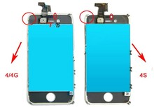 wholesale for apple iphone 4 4g color conversion kits