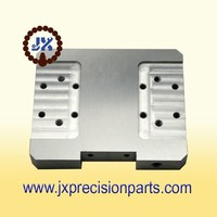 Limit of symmetrical support plate high quality aluminium alloy CNC machine processing precision custom parts